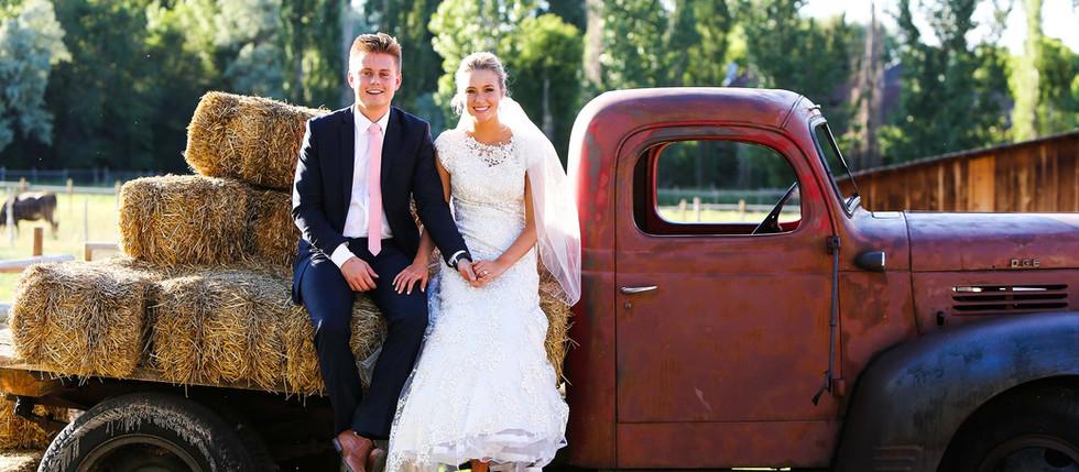 Spring Wheeler Farm Bride & Groom Session with Ashley & Kayden