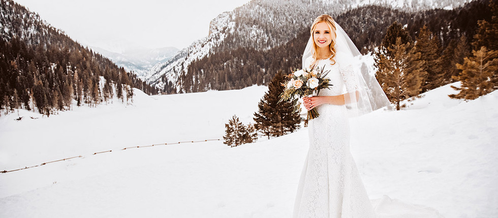 Winter Tibble Fork Bridal Session with Alanna