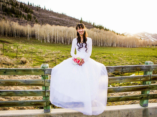 Spring McPolin Farm Bridals with Sarah