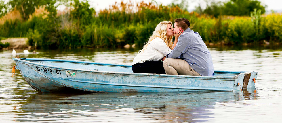 Spring Bountiful Pond Engagement with Katie & Nick