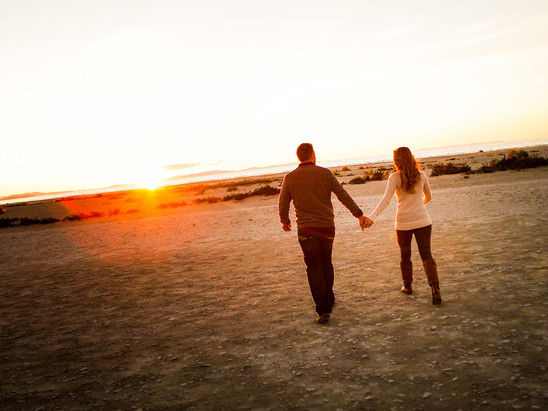 Summer Antelope Island Engagement with Breann & Jeremy