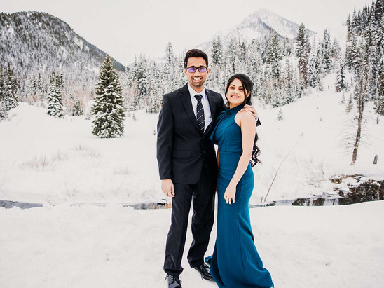 Winter Jordan Pines Campground Couples Session with Kanthi & Shachindra