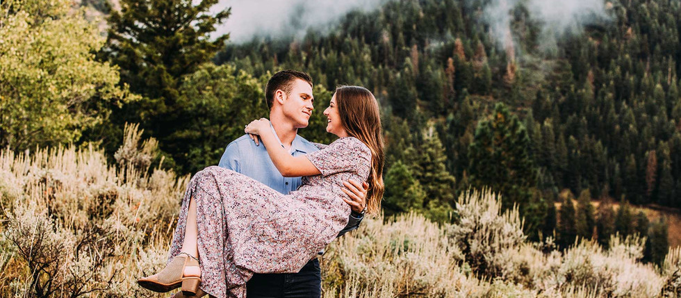 Fall Tibble Fork Engagement with Mandy & Justin