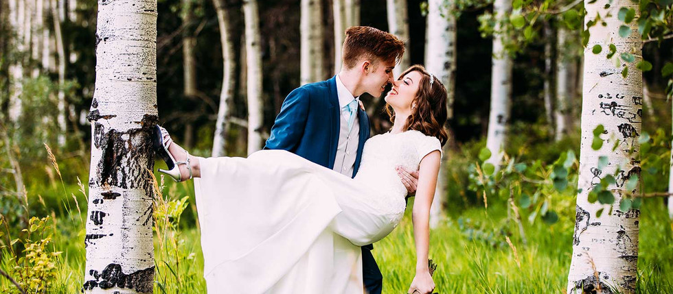 Summer Silverlake Flats Bride and Groom Session with Megan & Logan