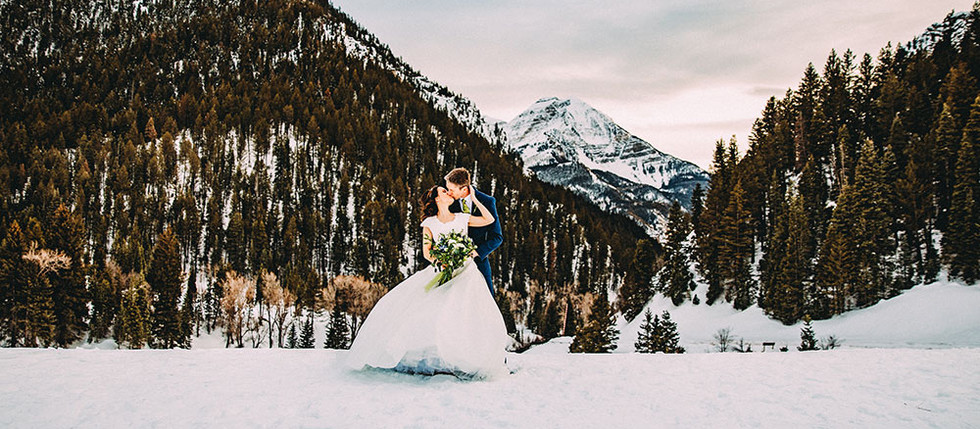 Winter Tibble Fork Bride & Groom Session with Becky & Matthew