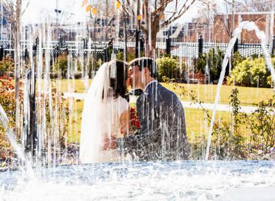 Fall Provo City Center Temple Wedding