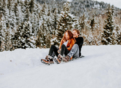 Tibble Fork Winter Engagement
