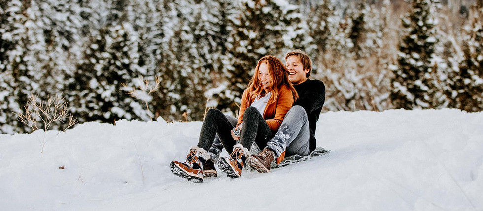 Winter Tibble Fork Engagement with Katie & Greyson