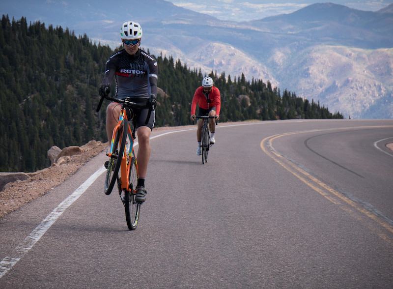 Pikes Peak Road Cycling Wheelie.jpeg