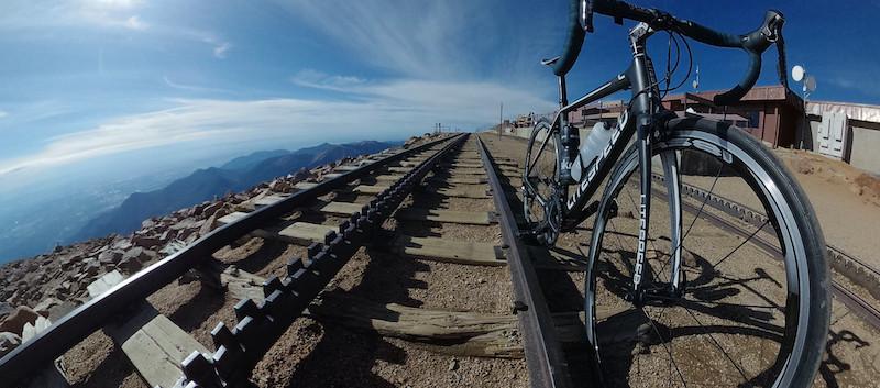 Pikes Peak Road Cycling and Railroad.jpe