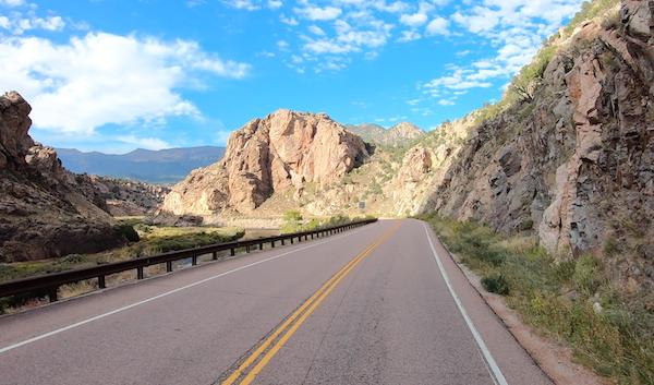 Big Horn Sheep Canyon Motorcycle Road Sm