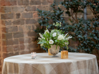 Corporate+Event|Toboni+Dinnerat+Barnsley+Resort|Head+Tables+With+Rustic+Chic+Florals+3