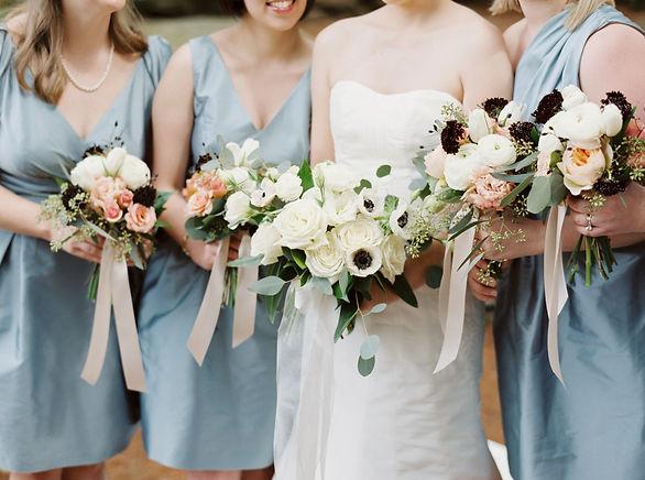 Dunaway Garden spring Wedding Bridesmaid