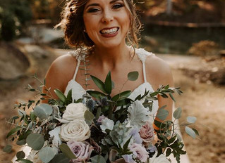 Romantic Boho Style Fall Wedding at Rocky Lake Estate with Helicopter ride