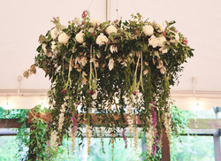 Floral Chandelier Barnsley Gardens Resor