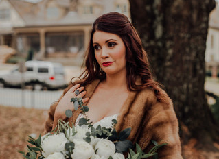 Historic Roswell Industrial Boho Christmas Wedding