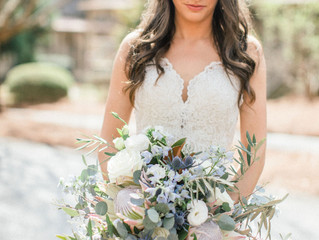 Lush Greenery Summer Wedding At Barnsley Resort, North GA