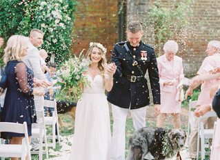 Romantic Southern Garden Wedding. Barnsley Gardens Manor House.