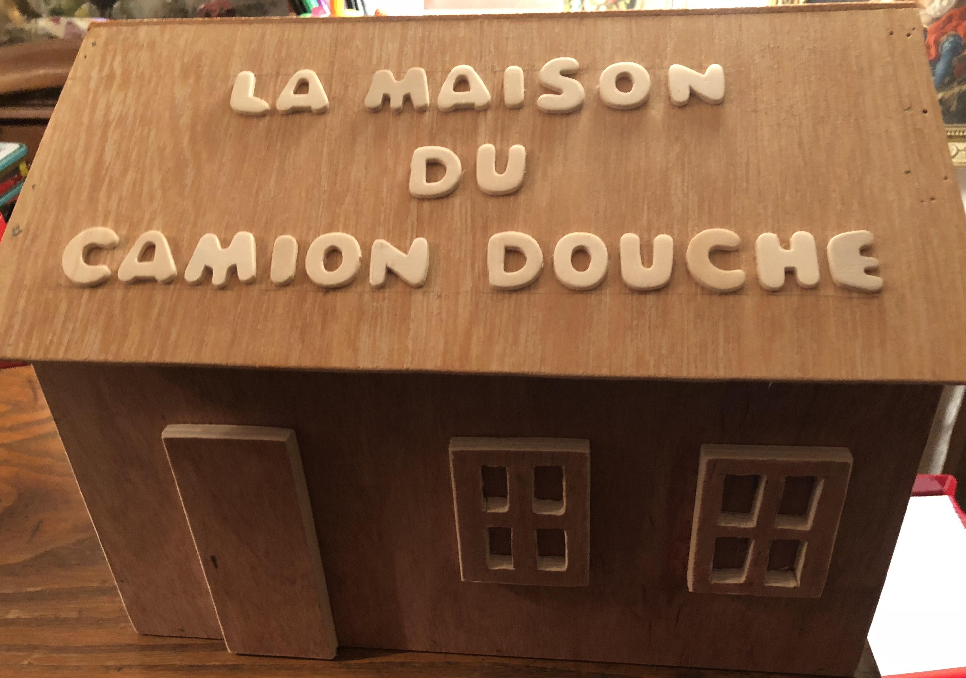 Maquette La Maison du Camion Douche