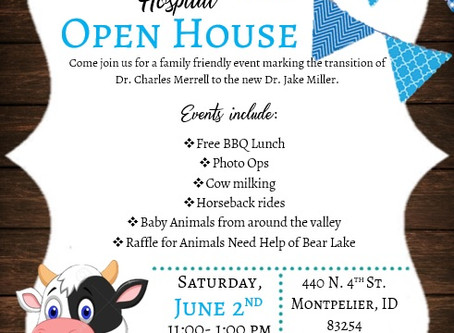 Open House and MORE...