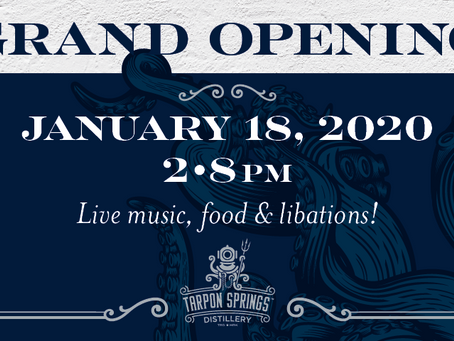 Grand Opening - January 18, 2020
