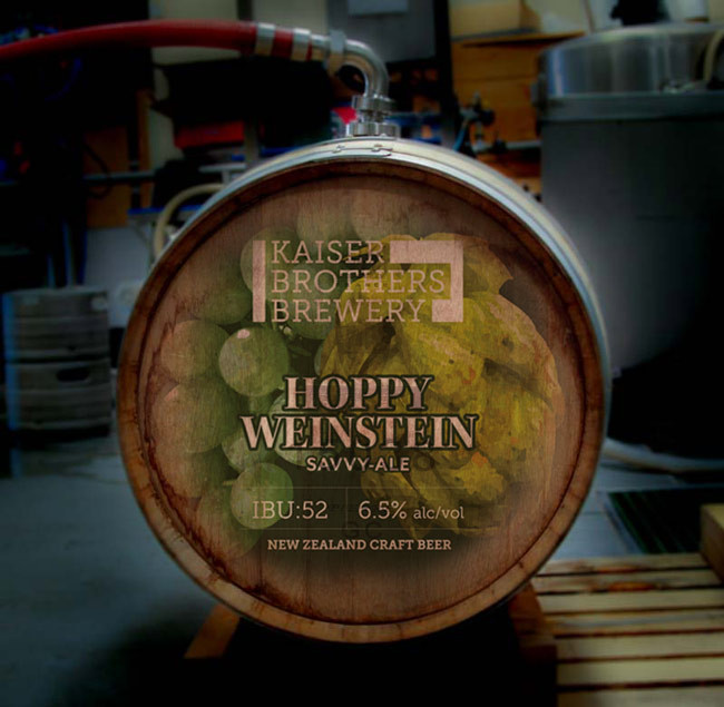 Fuder Barrel Aged Beer - Hoppy Weinstein Ale