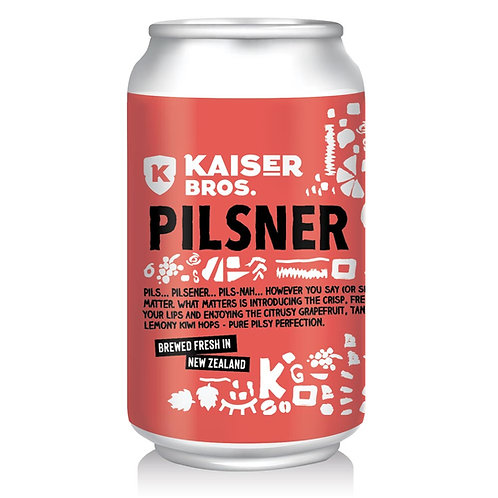 PILSNER Can 330ml [Six Pack]