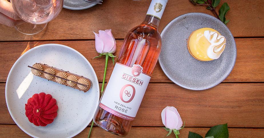 Giesen 0% Rose - bottle food flatlay - 2021 EC0781 1200x628-2.jpg