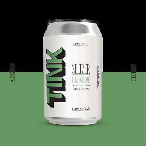 TINK Seltzer - Lemon & Lime 12 Pack