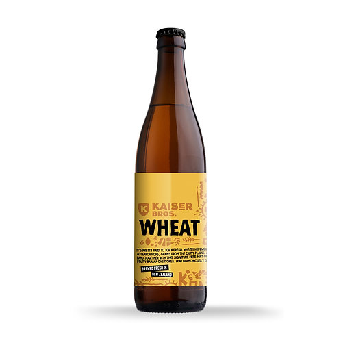 WHEAT Bottle 500ml [Six Pack]