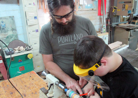 VSA KY Youth Woodworking