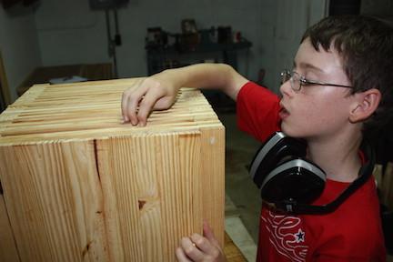 Youth Learn Hand Skills