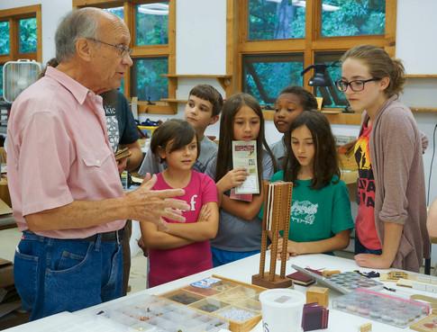 Kids Learn Woodworking Stoney Lamar