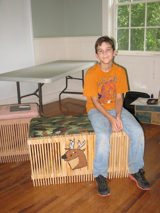 Youth Hunter Wood Bench