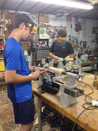 Youth Learn Confidence Woodworking