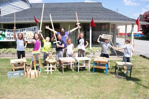 Kids Love Crafting
