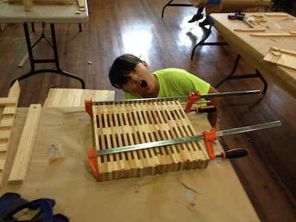 Happy Youth Woodworker