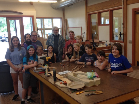 Youth Learn Woodworking Doug Seigler