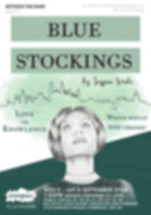 Blue stockings poster