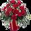Thumbnail: 12 Roses in Vase Arragement