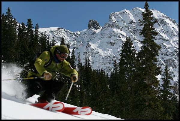 Christian S. Infantolino Skiing
