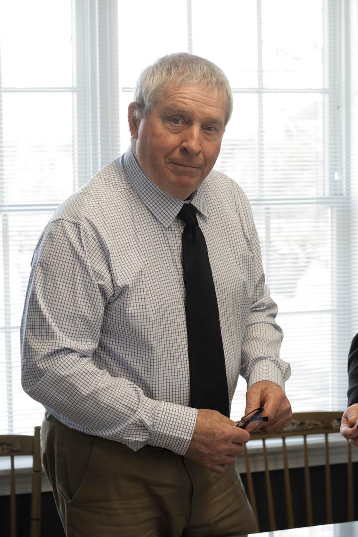 John Murphy at Morneau & Murphy Office, Jamestown Rhode Island