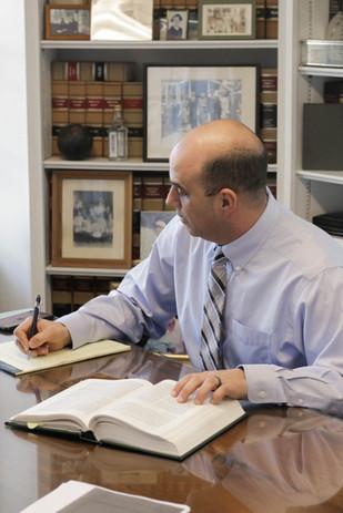 Christian S. Infantolino at Morneau & Murphy Office, Jamestown Rhode Island