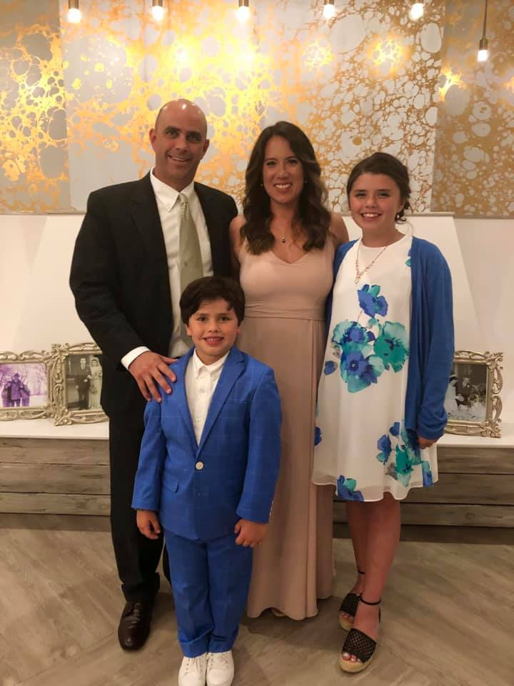 Christian S. Infantolino with family