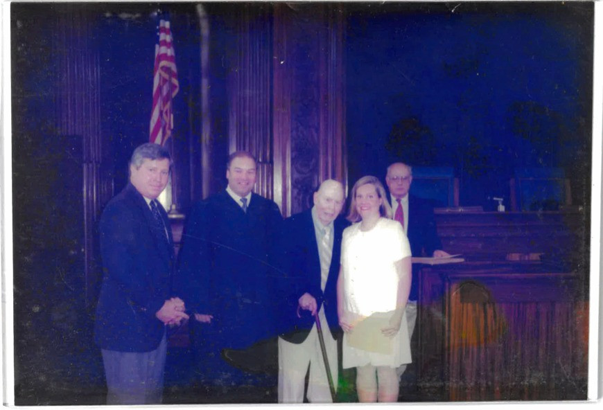 Emily J. Murphy Prior being sworn