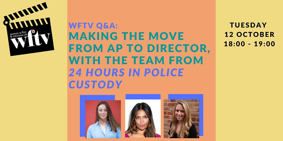 Making the move from AP to Director, with the team from 24 Hours in Police Custody