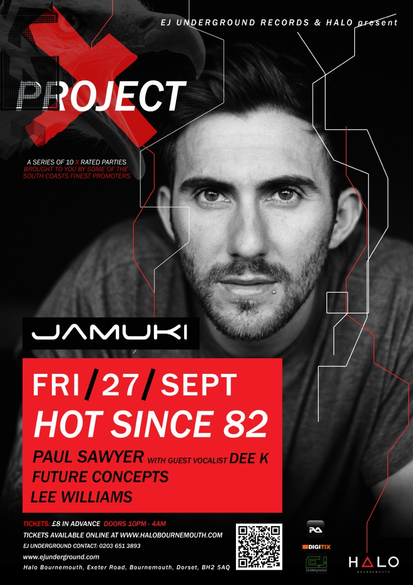 HOT SINCE 82 | INFO POSTER