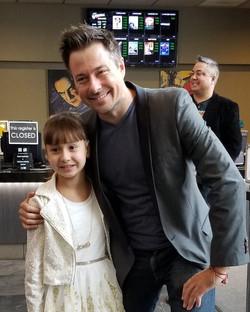 Larissa and Actor Ryan Hellquist