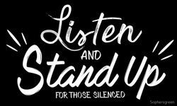 Listen and Stand Up