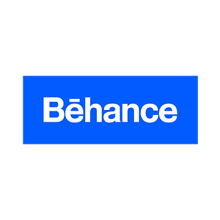 Behance Portfolio Button